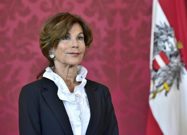 Brigitte Bierlein is Austria's first female Chancellor. Photo: Hans Punz/AFP